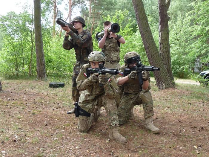 Obozy wojskowe dla młodzieży